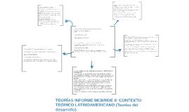 TEORÍAS INFORME MCBRIDE II: CONTEXTO TEÓRICO LATINOAMERICANO