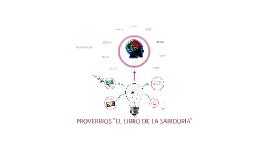 """PROVERBIOS """"EL LIBRO DE LA SABIDURIA"""""""