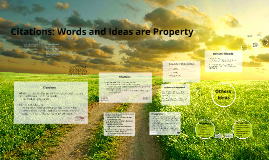 (Robinson) Words and Ideas are Property