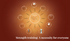 Why should you add strength training in to your daily exerci