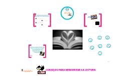 Copy of CONSEJOS PARA MEJORAR LECTURA