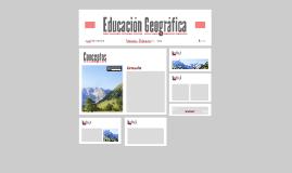 Educación Geográfica