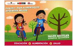 PROGRAMA NACIONAL DE SALUD ESCOLAR (PROSANE)