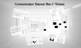 Communication Between Men & Women