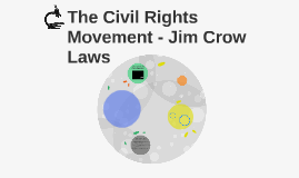 The Civil Rights Movement - Jim Crow Laws