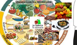 Quimica en los alimentos