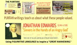 Copy of E3: Puritan Literature