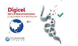 A of Telecoms Part 1 Digicel Academy