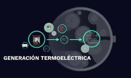 Generación termoelectrica