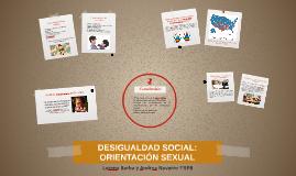 DESIGUALDAD SOCIAL: IDENTIDAD DE GÉNERO