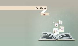 Copy of Der Koran