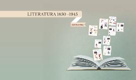 Línea del Tiempo Literatura