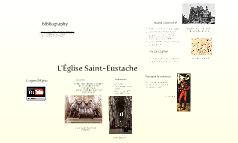 L'Église Saint Eustache