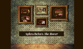 Copy of Aphra Behn's The Rover