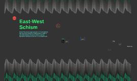 East-West Schism