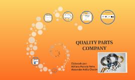 QUALITY PARTS     COMPANY
