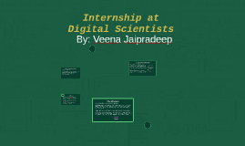 Intern at Digital Scientists