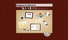 Pinterest for Educators Becca Adkins