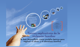 Copy of Teorías explicativas de la violencia familiar: