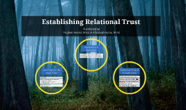 Establishing Relational Trust