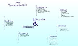 Teamwerkplan 2011