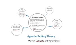 Agenda-Setting Theory