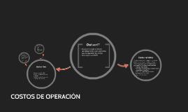 Copy of COSTOS DE OPERACIÓN