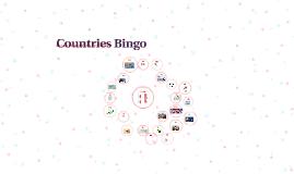 Countries Bingo