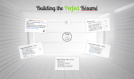 Building the Perfect Resume