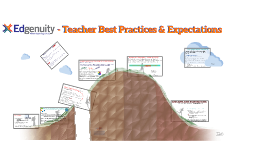 Edgenuity - Teacher Best Practices & Expectations
