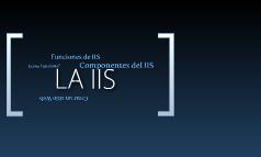 Presentacion IIS