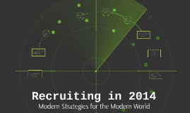Recruiting in 2014