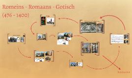 Copy of Romeins - Romaans - Gotisch
