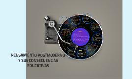 PENSAMIENTO POSTMODERNO Y SUS CONSECUENCIAS EDUCATIVAS