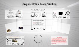 Argumentative Writing (PBl)