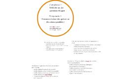 Composante 3 Comment évaluer des options ou des actions possibles ?