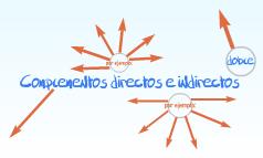 Complementos directos e indirectos