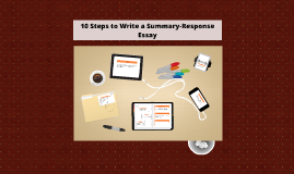 Writing a Summary-Response essay