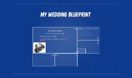 My Wedding BLueprint