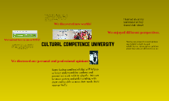 Cultural Competence University