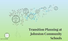 Transition Planning at Johnston Community Schools