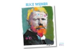 Práctica 5: Max Weber.