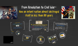 From Revolution to Civil War 1-