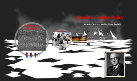 Truman's Foreign Policy