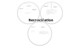 Reconciliaton