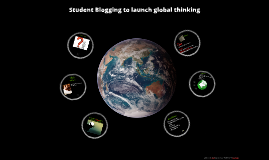 Student Blogging to launch global thinking
