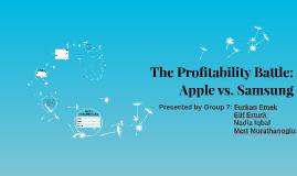 The Profitability Battle: Apple vs. Samsung