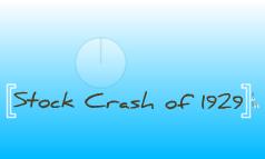 Stock Crash & Great Depression