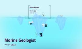Marine Geologist