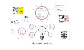 Copy of Manifesto Writing